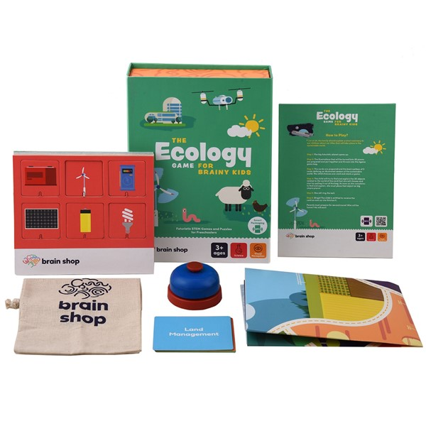 THE ECOLOGY GAME FOR BRAINY KIDS resmi