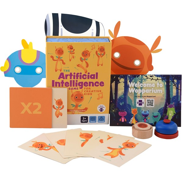 THE ARTİFİCİAL INTELLİGENCE GAME FOR CREATIVE KIDS resmi